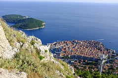 Dubrovnik Old Town an Lokrum island