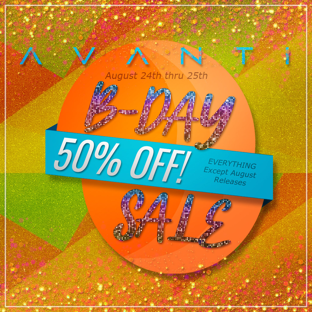 Avanti Birthday Sale 2019!