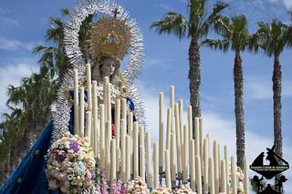 Domingo de Resurrección, Almuñécar 2018, Santa María del Triunfo, Reina de los cielos