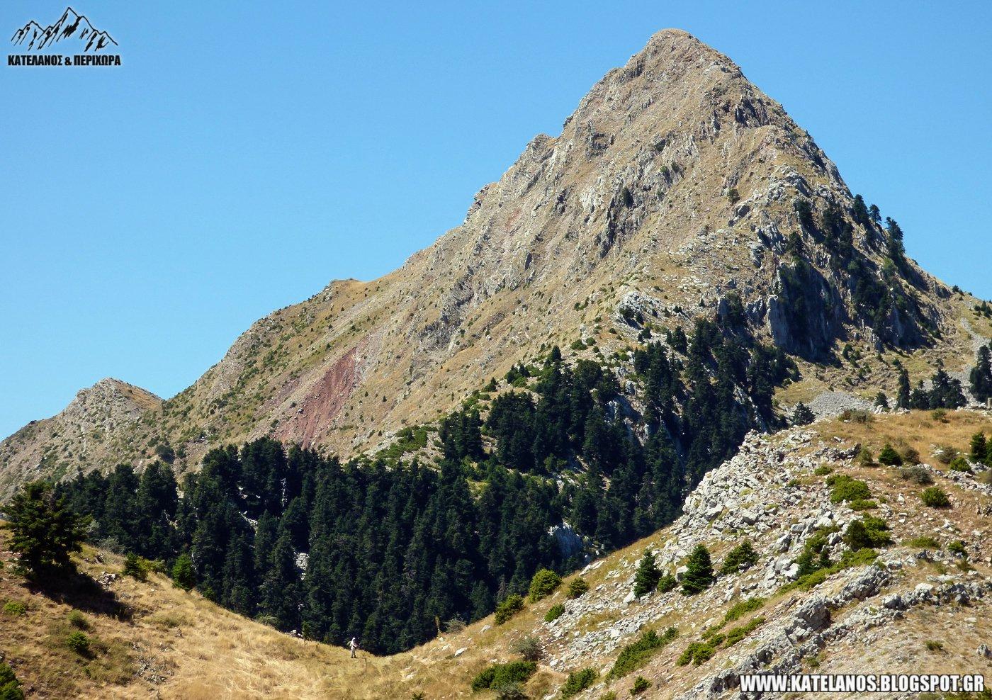 κυνηγου ευρυτανιας κουτουπας επιβλητικο βουνο άγρια τοπία