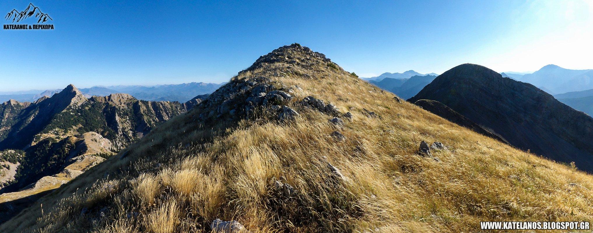 βουνοκορφες κουτουπας νεραιδοβουνι παναιτωλικου ορους