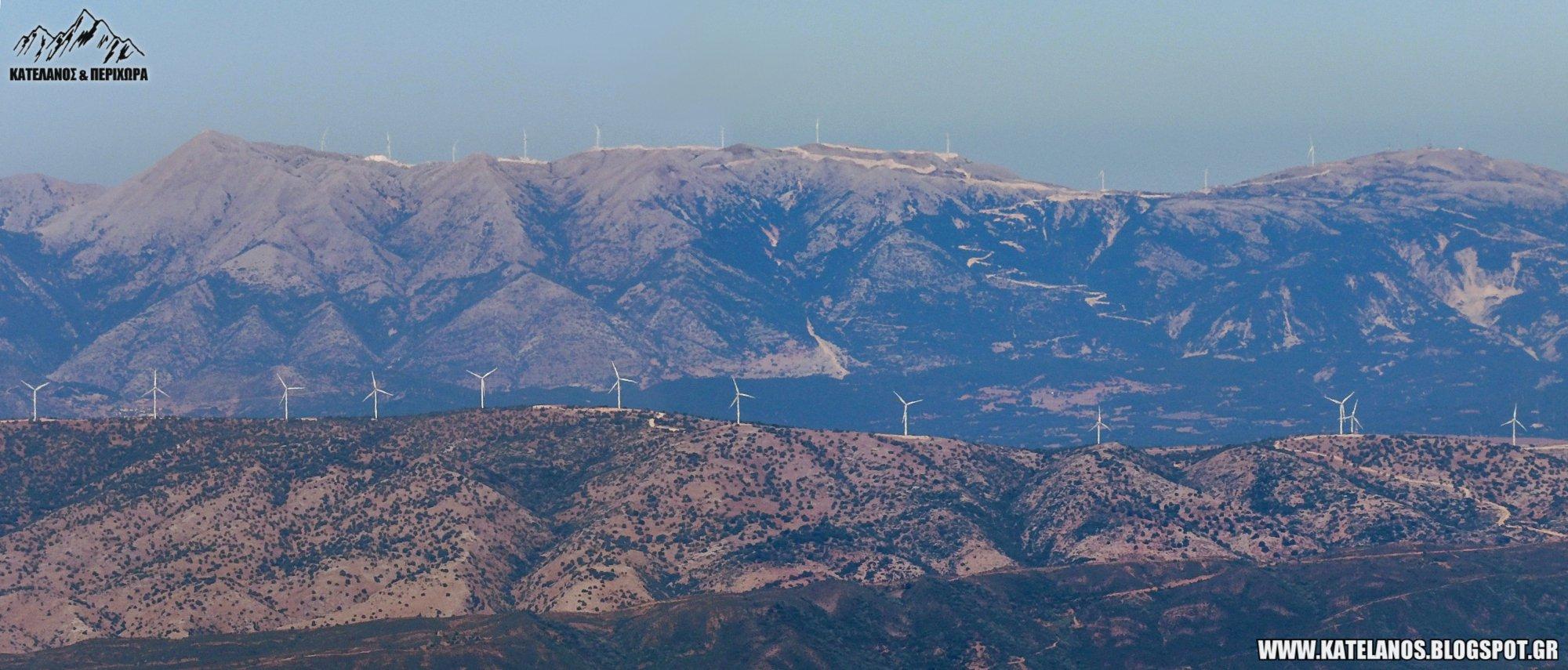 πεταλας αμφιλοχιας ανεμογεννητριες βουνα ακαρνανικα ορη περγαντι αιολικο παρκο καταστροφη