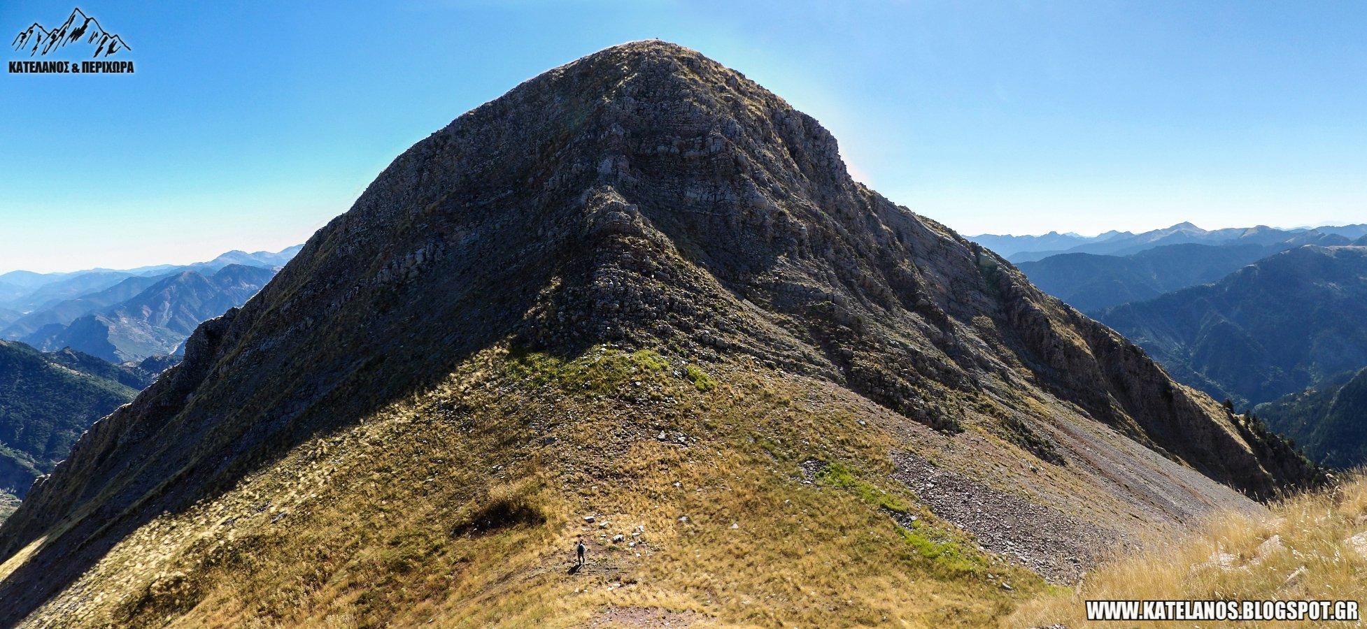 ορειβασια στην αιτωλοακαρνανια παναιτωλικο ορος διαδρομες νεραιδοβουνι