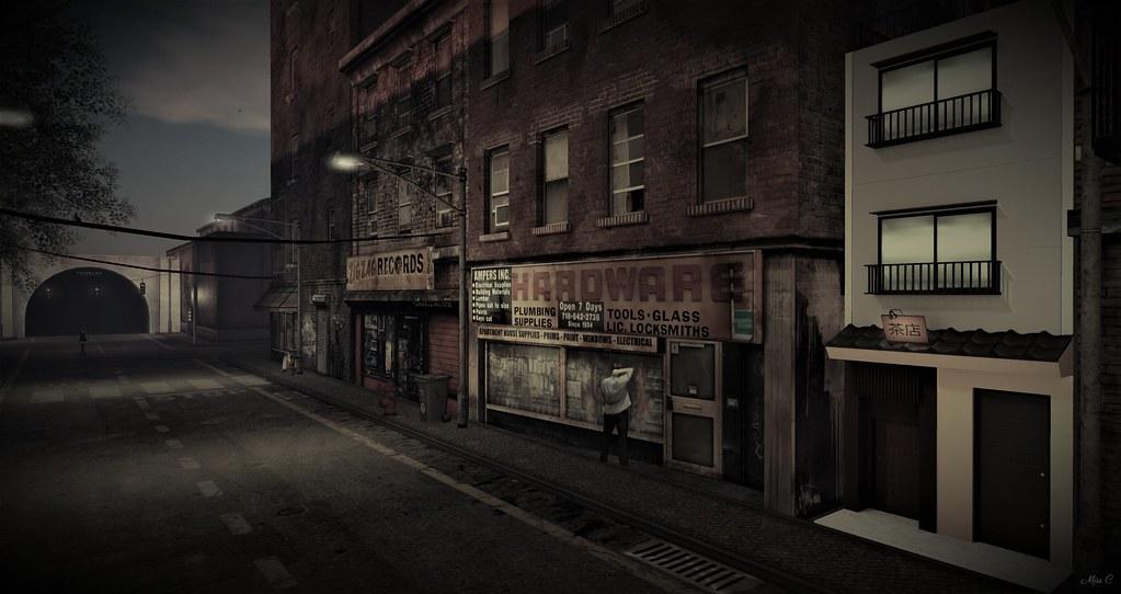 Au cœur de la rue.........