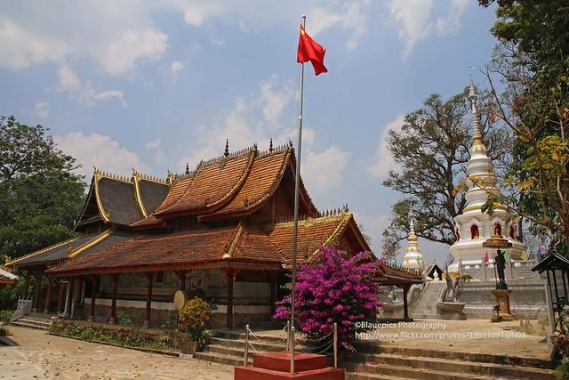 Xiding Bulang village, Buddhist temple