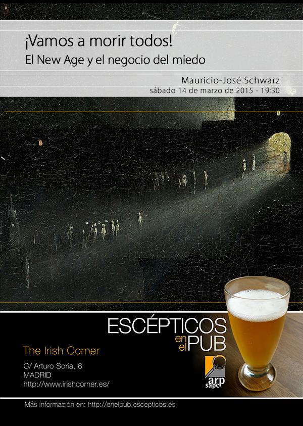 Escépticos en el Pub Madrid - Marzo 2015