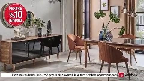 Yenilikçi ve her tarza uygun tasarımlarıyla evlerin havasını değiştiren Kelebek'te Tüm kampanyalara ilave %10 indirim seni bekliyor! Sen de Kelebek'e gel, bu büyük fırsatı kaçırma! . . . . . . #kelebek #kelebekmobilya#kelebekstildemek #kelebekkadınları#ev