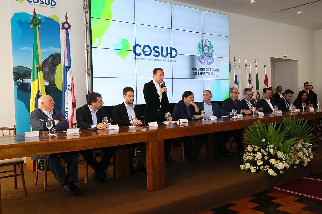 4ª Reunião de Governadores do COSUD - Consórcio de Integração Sul-Sudeste