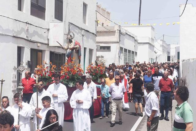 Procesión de  San Bartolomé 2019