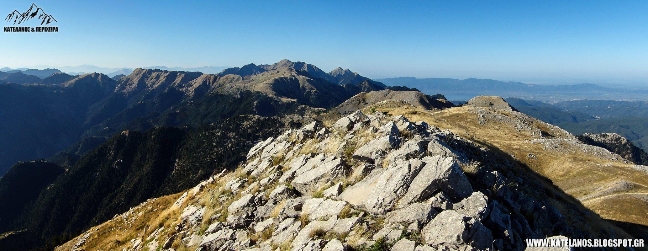 καλοκαιρι στο παναιτωλικο ορος οροσειρα αιτωλοακαρνανια βουνοκορφες