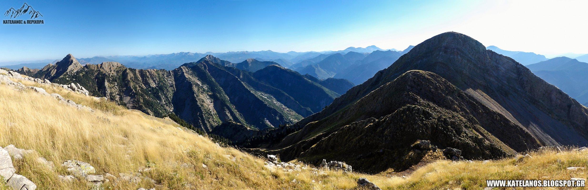 οροσειρα κουτουπας παναιτωλικο ορος νεραιδοβουνι συνορα ευρυτανιας αιτωλοακαρνανιας