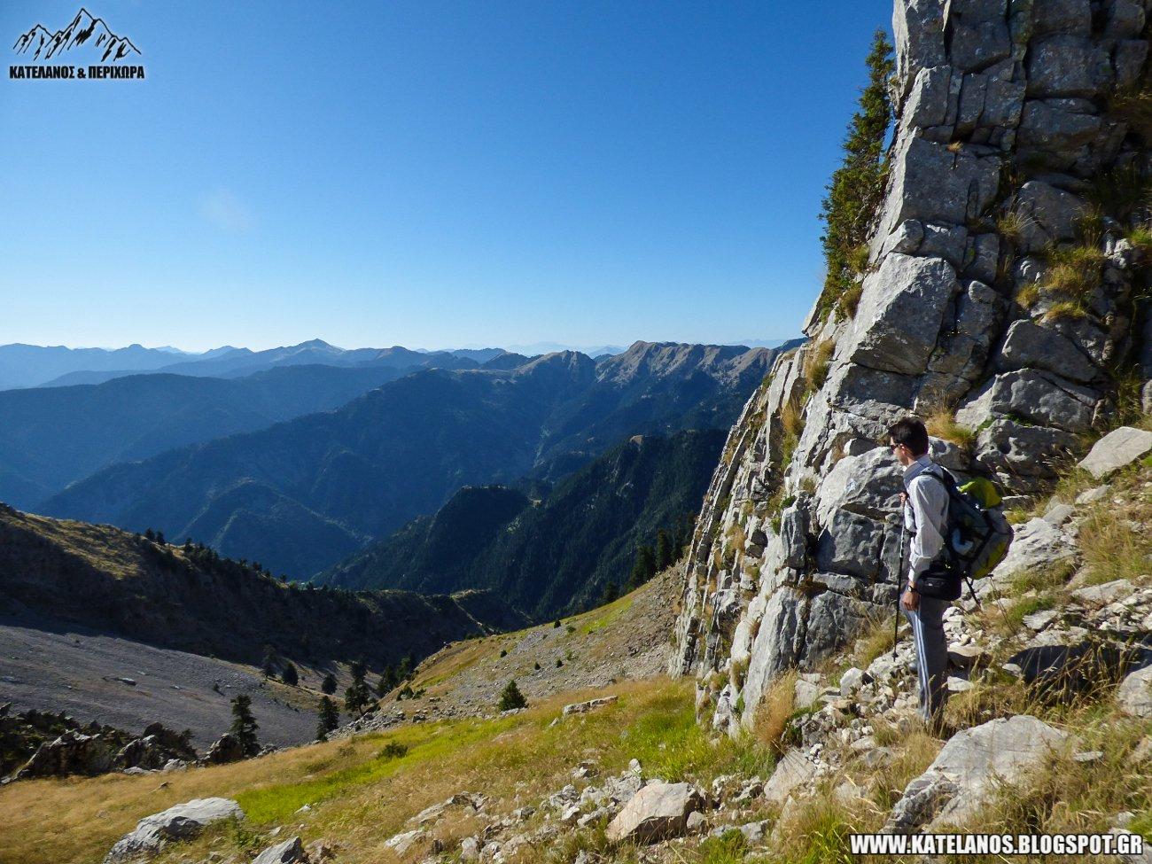 panaitoliko mountain routes