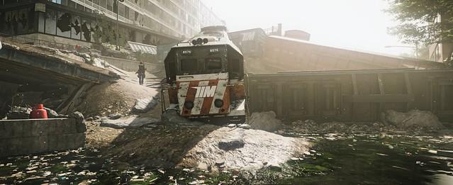 Rail dust