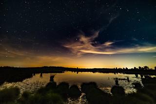 Nachthimmel über dem Brackvenn