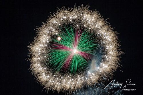 Fireworks for the feast of St Leonard, Kirkop, Malta, 2019