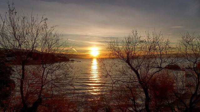 Winter Sunrise in Split