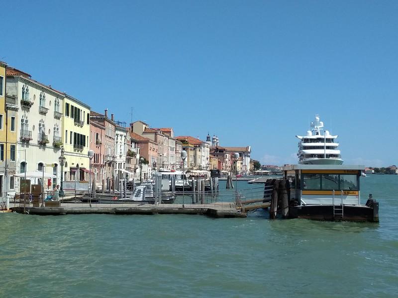 Венеция - Причал Сан-Базилио