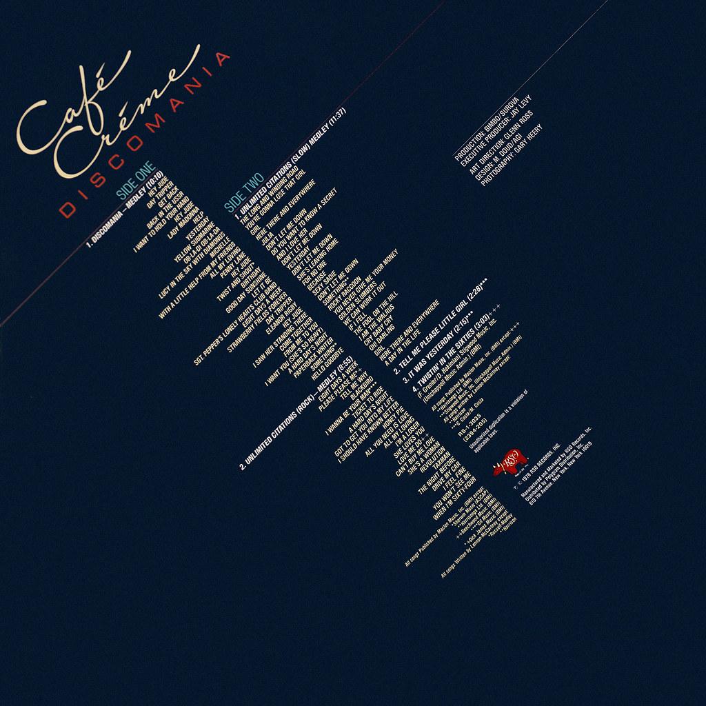 Café Créme - Discomania