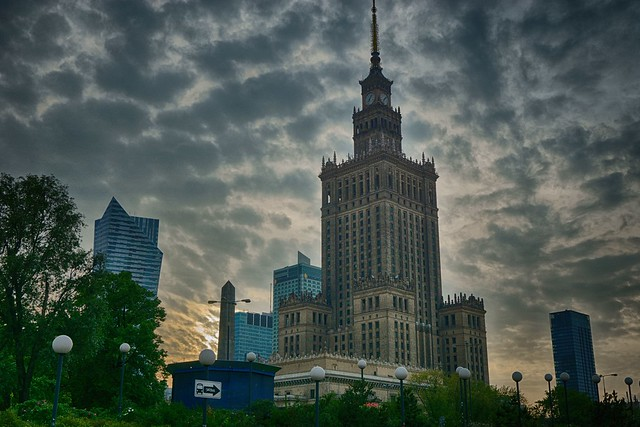 Palacio de la Cultura (Varsovia)        Palace of Culture and Science (Warsaw)