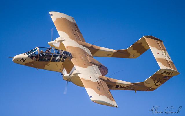 North American OV-10B  F-AZKM