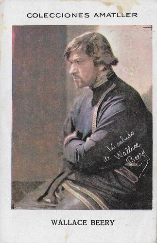 Colecciones Amatller, Wallace Beery