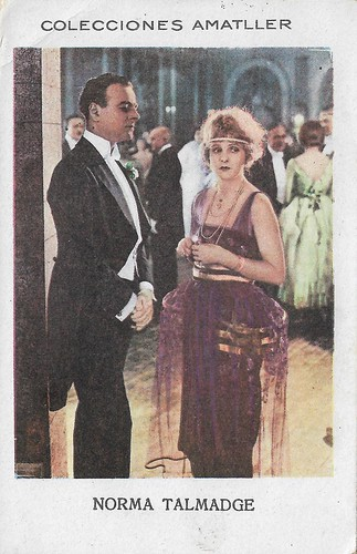 Colecciones Amatller, Norma Talmadge in Yes or No?