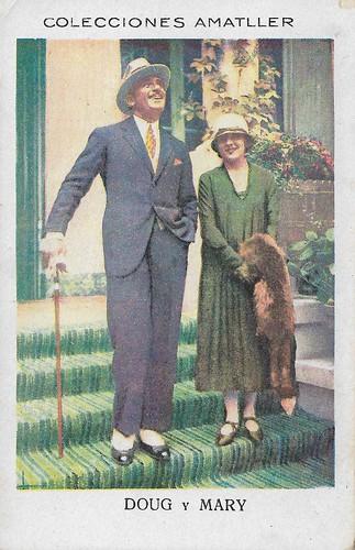 Colecciones Amatller, Douglas Fairbanks, Mary Pickford