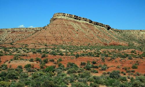 Rock Formation - Between Kanab and Springdale, Utah