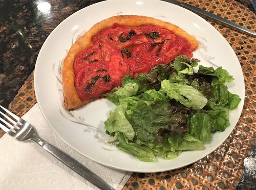 At Home 2019:  Tomato Tart