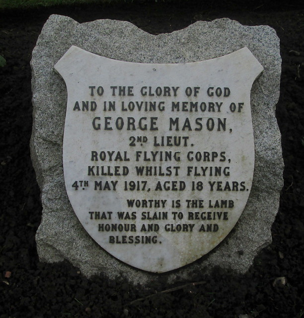 War Death Plaque, Comely Bank Cemetery,  Edinburgh
