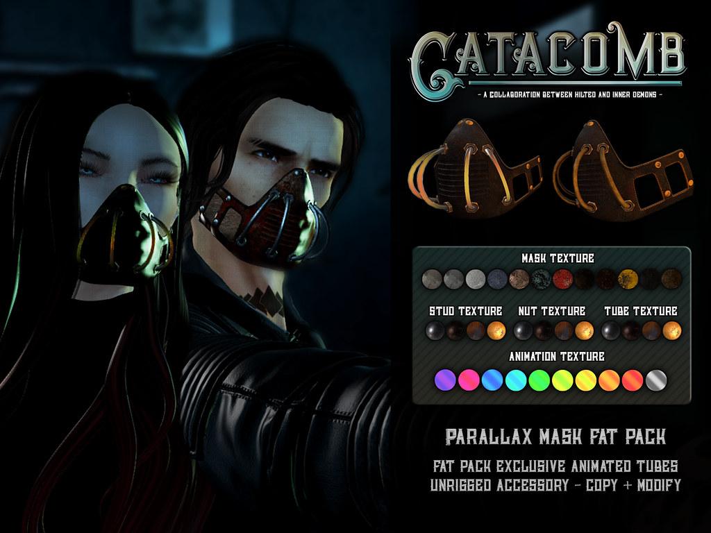 Catacomb - Parallax Mask - TeleportHub.com Live!