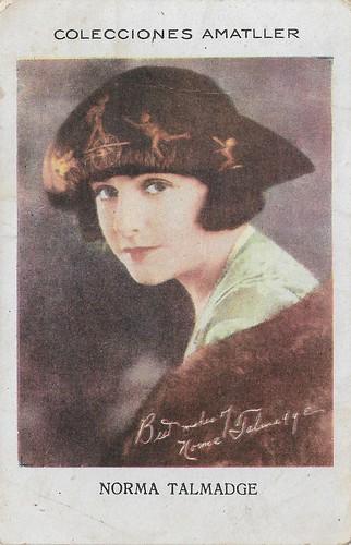 Colecciones Amatller, Norma Talmadge