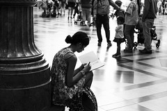 Girl without Mobile