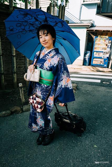 Kimono on Tour
