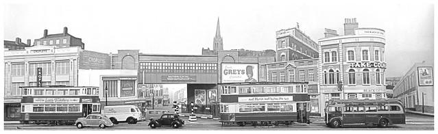 Kennington Cross trams
