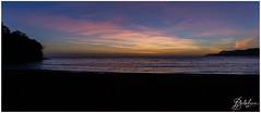 Coucher de soleil sur la baie de Soulou