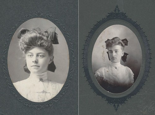 Cabinet Cards by Two Pennsylvania Photographers (Daniel Ziegler, Souderton, PA, and Franklin Taylor, Reading, PA)