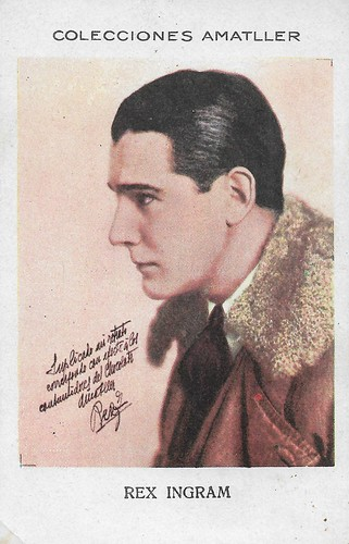 Colecciones Amatller, Rex Ingram