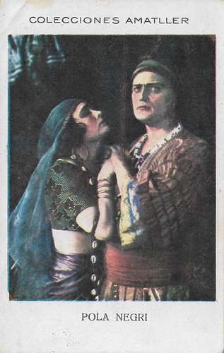 Colecciones Amatller, Pola Negri and Harry Liedtke
