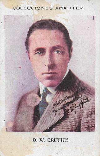 Colecciones Amatller, D.W. Griffith
