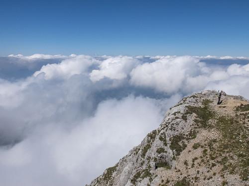 Un mare di nuvole - a sea of clouds