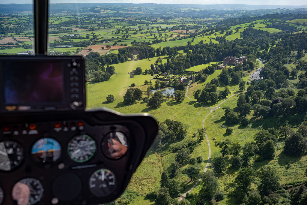 Helicopter Ride in Near Welshpool
