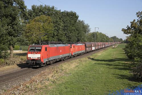 189 078 + 189 051 . DB Cargo . 48743 . Kaldenkirchen . 24.06.19.