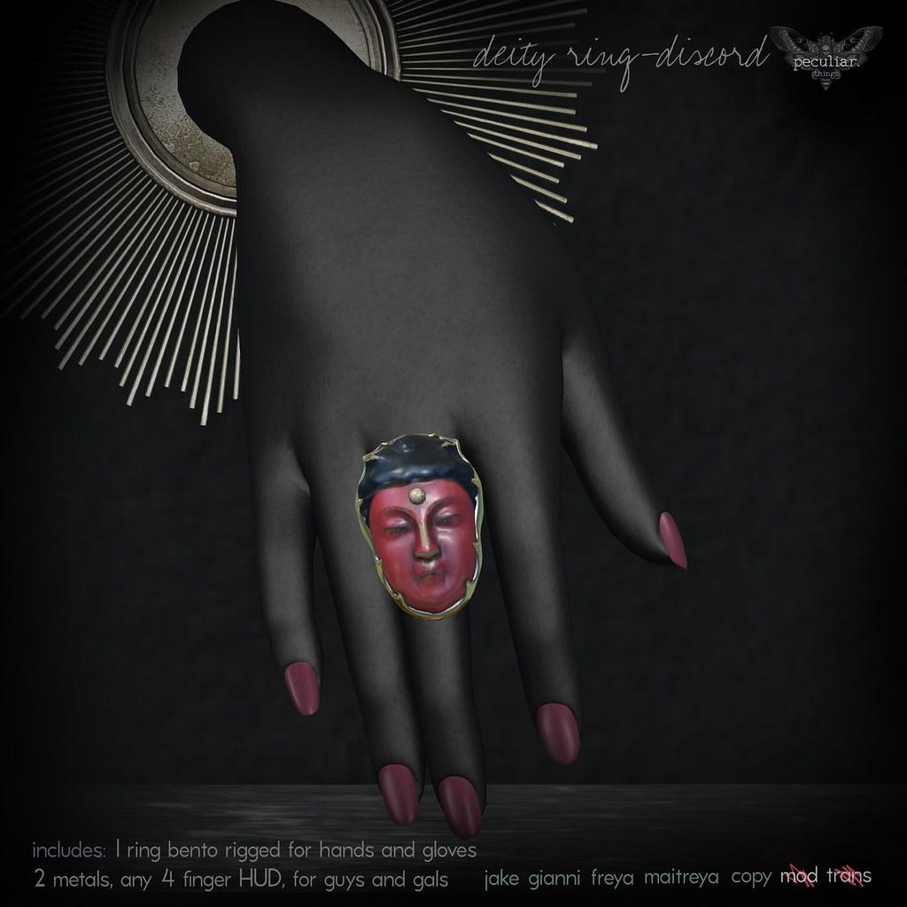 PROMO Deity Ring Discord