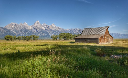 Moulton Barn, Grand Tetón National Park. Jackson Hole, WY