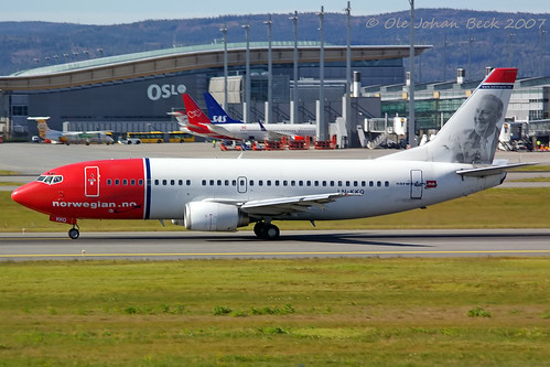 Norwegian B737-36Q LN-KKQ  at ENGM/OSL 13-09-2007 | by Ole Johan Beck