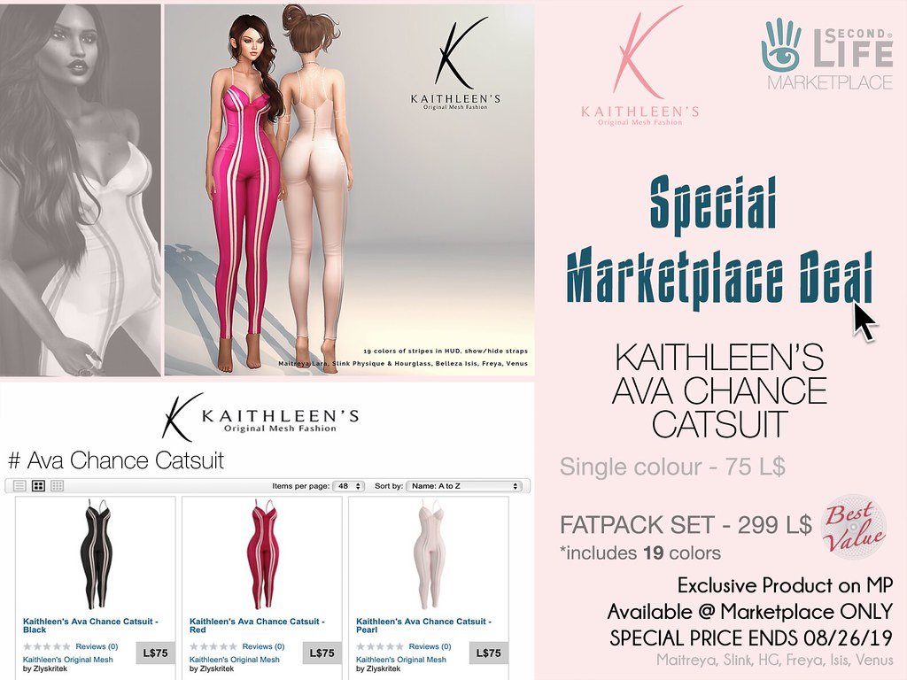 Kaithleen's Special Marketplace Deal – Ava Chance Catsuit