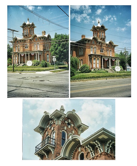 Coldwater Michigan - Victorian Mansion Bed & Breakfast  - 1870 - Architecture Italianate  -