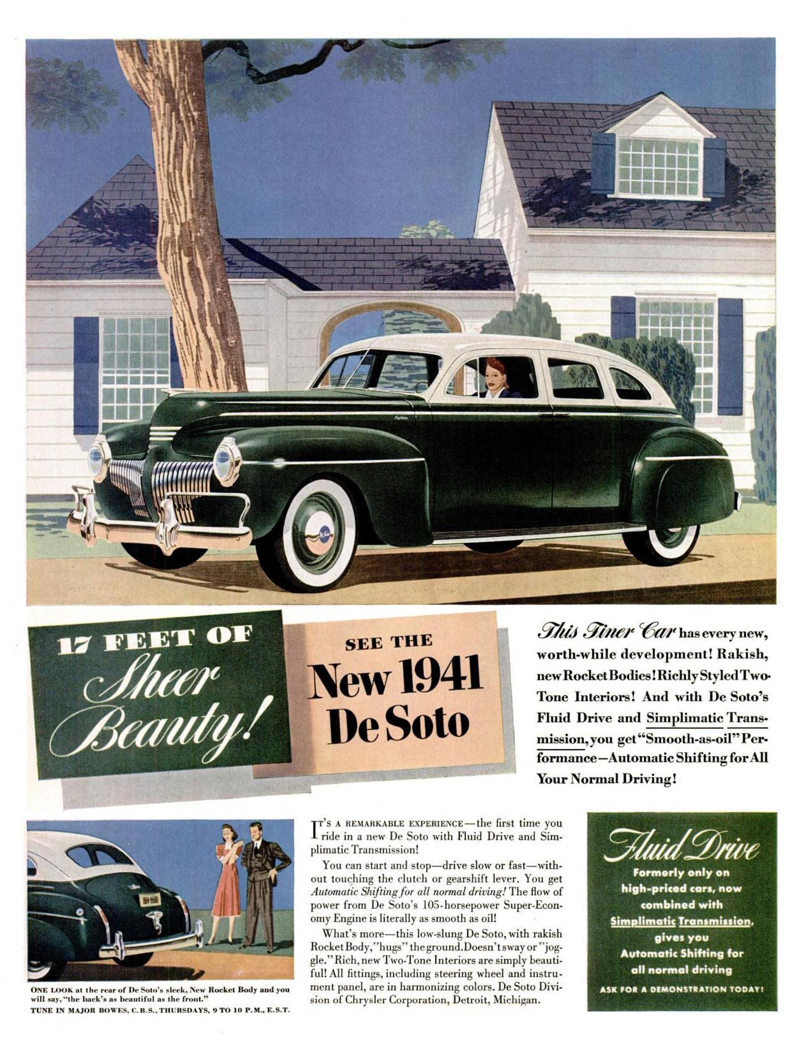 1941 De Soto - published in Life - November 25, 1941