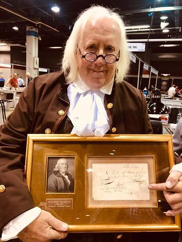 Ben Franklin with Ben Franklin